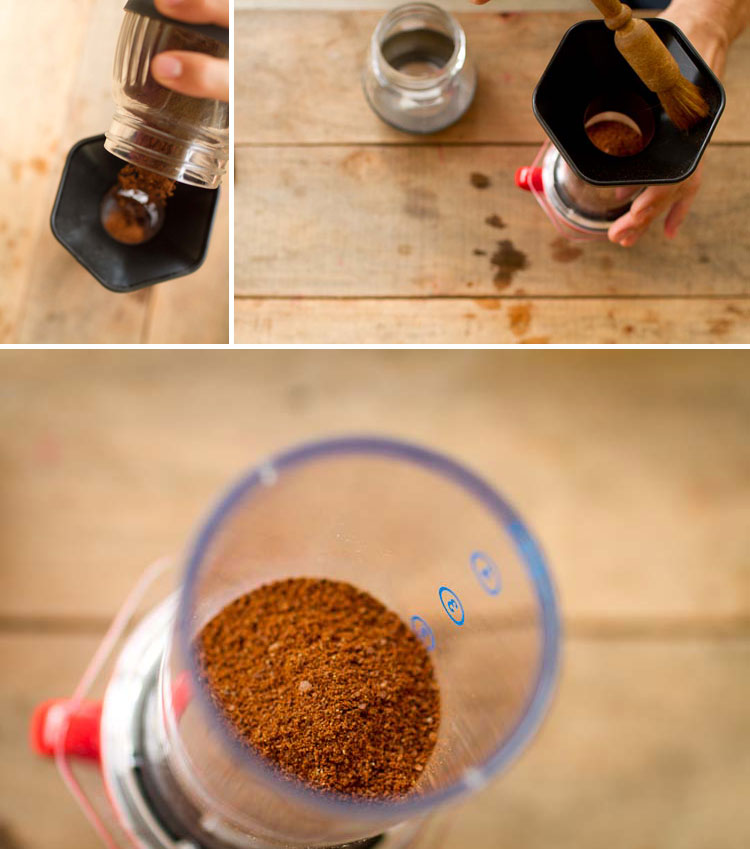 AeroPress brew guide, how to brew an AeroPress, AeroPress, how to use an AeroPress, Long Miles Coffee Project